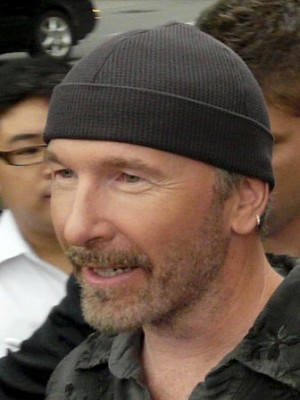 The Edge wearing Tuque