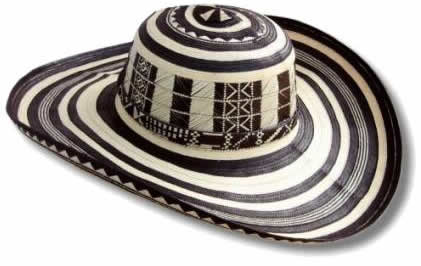 The sombrero vueltiao or sombrero vueltiado is a traditional hat from  Colombia and one of its symbols. It is made from a local cane Gynerium  sagittatum ... 1249880ce5f8