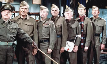 side caps dad's army