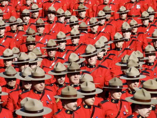 Campaign Hats Mounties