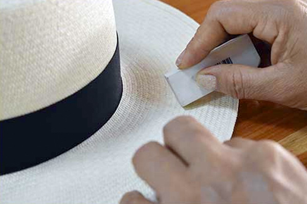 hat care cleaning panama hat